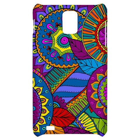 Pop Art Paisley Flowers Ornaments Multicolored Samsung Infuse 4G Hardshell Case