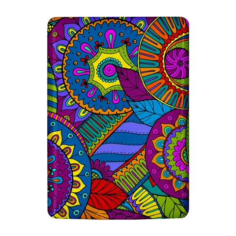 Pop Art Paisley Flowers Ornaments Multicolored Kindle 4