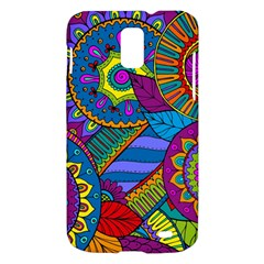 Pop Art Paisley Flowers Ornaments Multicolored Samsung Galaxy S II Skyrocket Hardshell Case