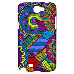 Pop Art Paisley Flowers Ornaments Multicolored Samsung Galaxy Note 2 Hardshell Case