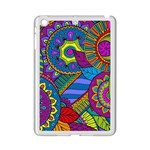 Pop Art Paisley Flowers Ornaments Multicolored iPad Mini 2 Enamel Coated Cases Front