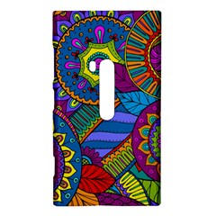 Pop Art Paisley Flowers Ornaments Multicolored Nokia Lumia 920