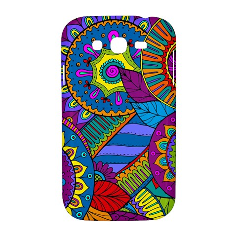 Pop Art Paisley Flowers Ornaments Multicolored Samsung Galaxy Grand DUOS I9082 Hardshell Case