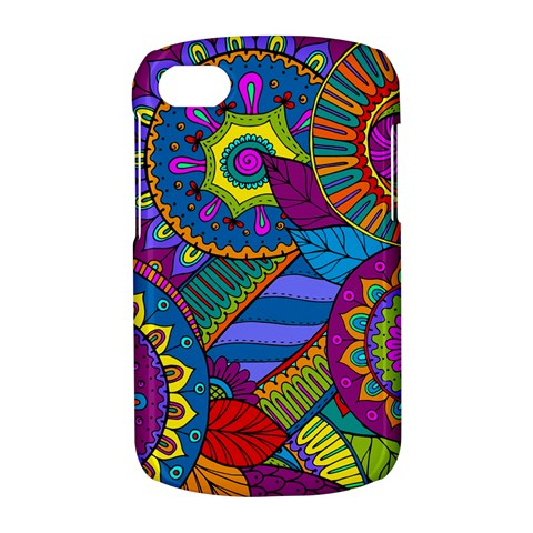 Pop Art Paisley Flowers Ornaments Multicolored BlackBerry Q10