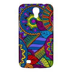Pop Art Paisley Flowers Ornaments Multicolored Samsung Galaxy Mega 6 3  I9200 Hardshell Case