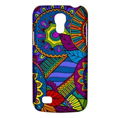 Pop Art Paisley Flowers Ornaments Multicolored Galaxy S4 Mini