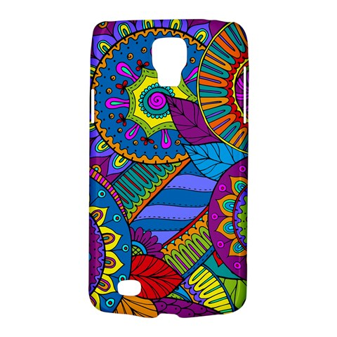 Pop Art Paisley Flowers Ornaments Multicolored Galaxy S4 Active