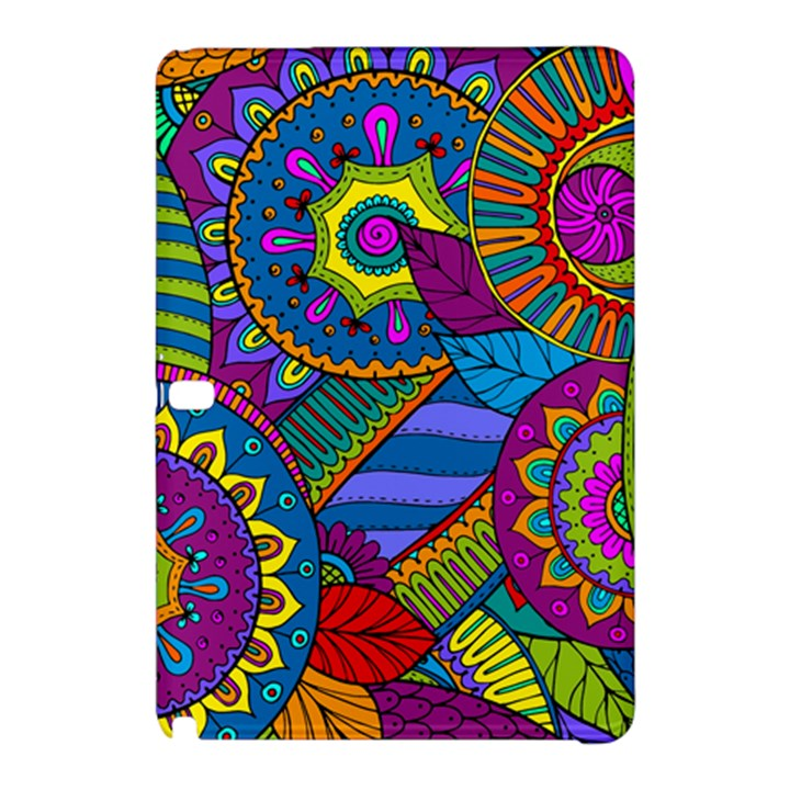 Pop Art Paisley Flowers Ornaments Multicolored Samsung Galaxy Tab Pro 12.2 Hardshell Case