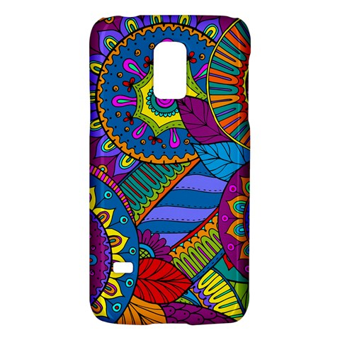 Pop Art Paisley Flowers Ornaments Multicolored Galaxy S5 Mini