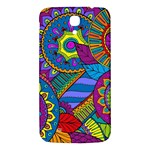 Pop Art Paisley Flowers Ornaments Multicolored Samsung Galaxy Mega I9200 Hardshell Back Case Front