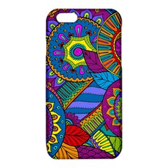 Pop Art Paisley Flowers Ornaments Multicolored iPhone 6/6S TPU Case