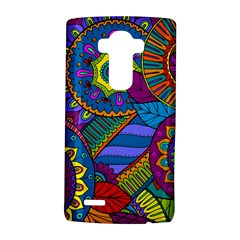 Pop Art Paisley Flowers Ornaments Multicolored LG G4 Hardshell Case