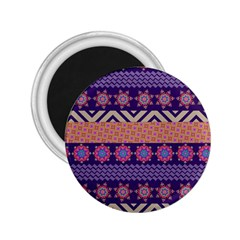 Colorful Winter Pattern 2.25  Magnets