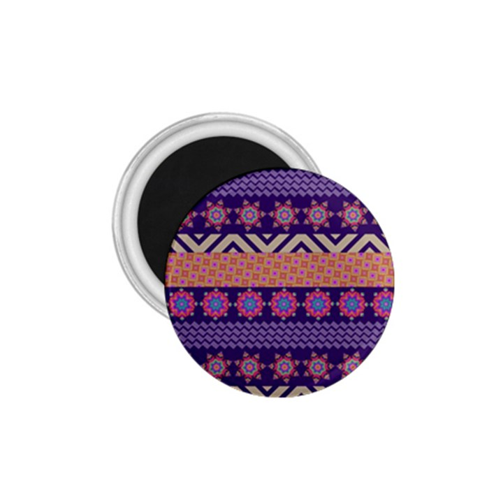 Colorful Winter Pattern 1.75  Magnets