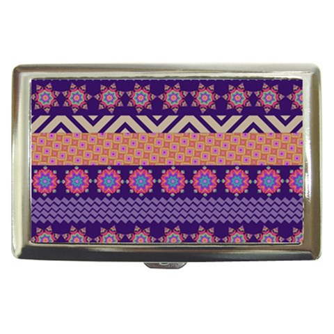 Colorful Winter Pattern Cigarette Money Cases