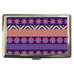 Colorful Winter Pattern Cigarette Money Cases Front
