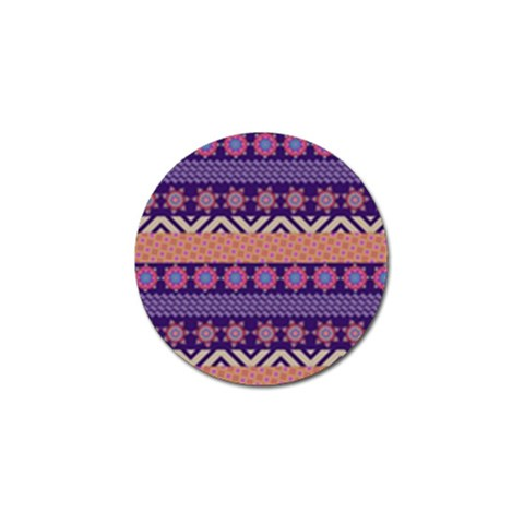 Colorful Winter Pattern Golf Ball Marker (4 pack)