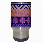 Colorful Winter Pattern Travel Mugs (White) Center