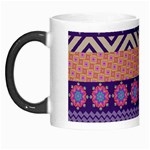Colorful Winter Pattern Morph Mugs Left