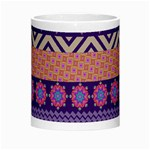 Colorful Winter Pattern Morph Mugs Center