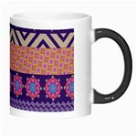 Colorful Winter Pattern Morph Mugs Right