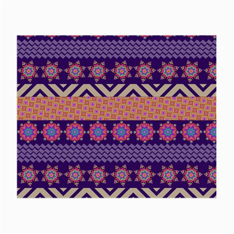 Colorful Winter Pattern Small Glasses Cloth