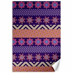 Colorful Winter Pattern Canvas 12  x 18   18 x12 Canvas - 1