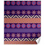 Colorful Winter Pattern Canvas 20  x 24   24 x20 Canvas - 1