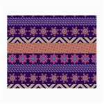 Colorful Winter Pattern Small Glasses Cloth (2-Side) Front