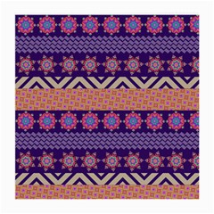 Colorful Winter Pattern Medium Glasses Cloth (2-Side)