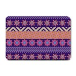 Colorful Winter Pattern Small Doormat  24 x16 Door Mat - 1