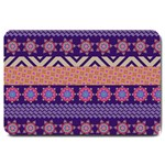 Colorful Winter Pattern Large Doormat  30 x20 Door Mat - 1