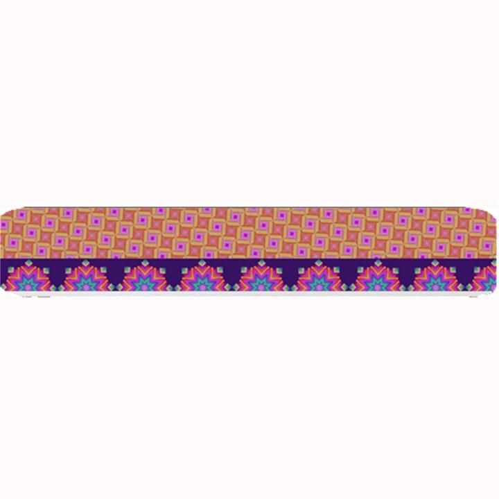 Colorful Winter Pattern Small Bar Mats
