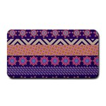 Colorful Winter Pattern Medium Bar Mats 16 x8.5 Bar Mat - 1