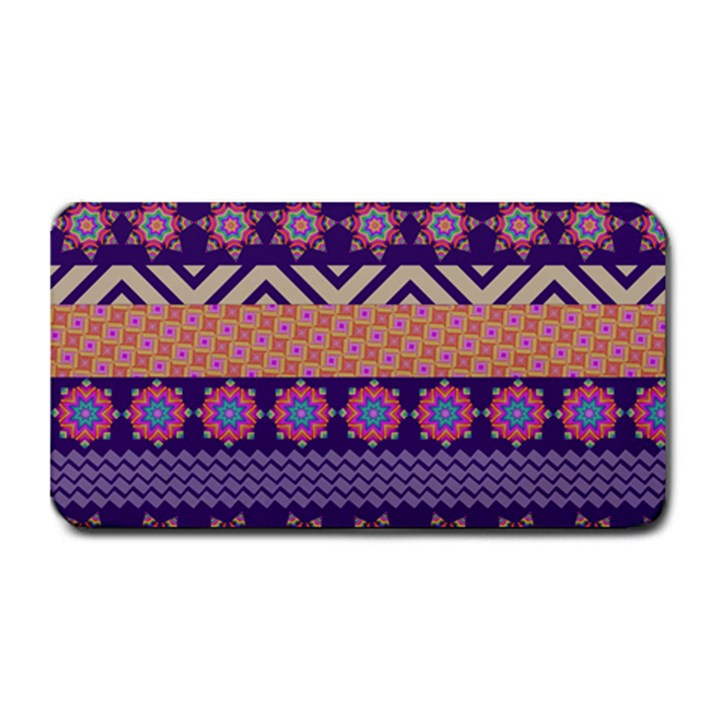Colorful Winter Pattern Medium Bar Mats