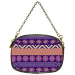 Colorful Winter Pattern Chain Purses (Two Sides)  Back
