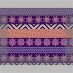 Colorful Winter Pattern Mini Canvas 7  x 5  7  x 5  x 0.875  Stretched Canvas