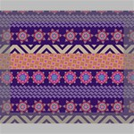 Colorful Winter Pattern Canvas 10  x 8  10  x 8  x 0.875  Stretched Canvas