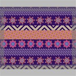 Colorful Winter Pattern Canvas 14  x 11  14  x 11  x 0.875  Stretched Canvas