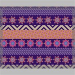 Colorful Winter Pattern Canvas 20  x 16  20  x 16  x 0.875  Stretched Canvas