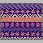 Colorful Winter Pattern Canvas 24  x 20  24  x 20  x 0.875  Stretched Canvas