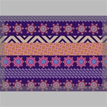 Colorful Winter Pattern Canvas 18  x 12  18  x 12  x 0.875  Stretched Canvas