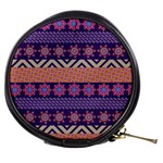 Colorful Winter Pattern Mini Makeup Bags Front