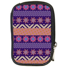Colorful Winter Pattern Compact Camera Cases