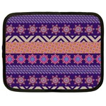 Colorful Winter Pattern Netbook Case (XL)  Front