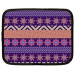 Colorful Winter Pattern Netbook Case (XXL)  Front