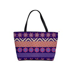 Colorful Winter Pattern Shoulder Handbags