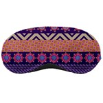 Colorful Winter Pattern Sleeping Masks Front