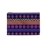 Colorful Winter Pattern Cosmetic Bag (Medium)  Front
