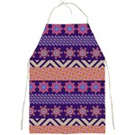 Colorful Winter Pattern Full Print Aprons Front